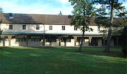 Historische Gebäude im Fliegerhorst