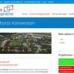 Ideensammler zur Fliegerhorst-Konversion auf den Brucker-Stadtgespächen