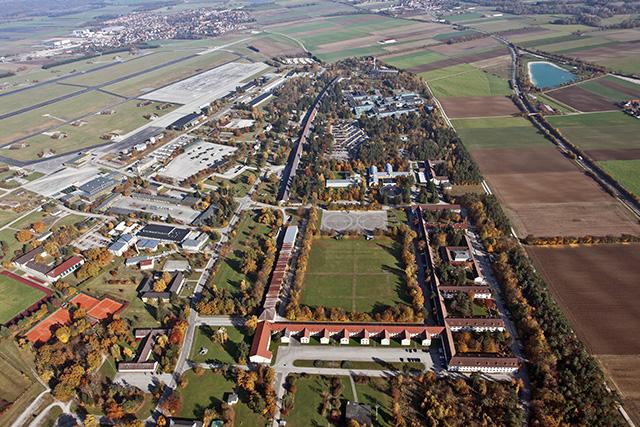 Luftbild Fliegerhorst Fürstenfeldbruck