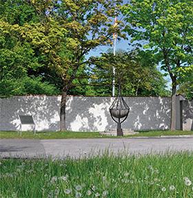 Gedenkstätte am Fliegerhorst FFB zum Olympia-Attentat 1972