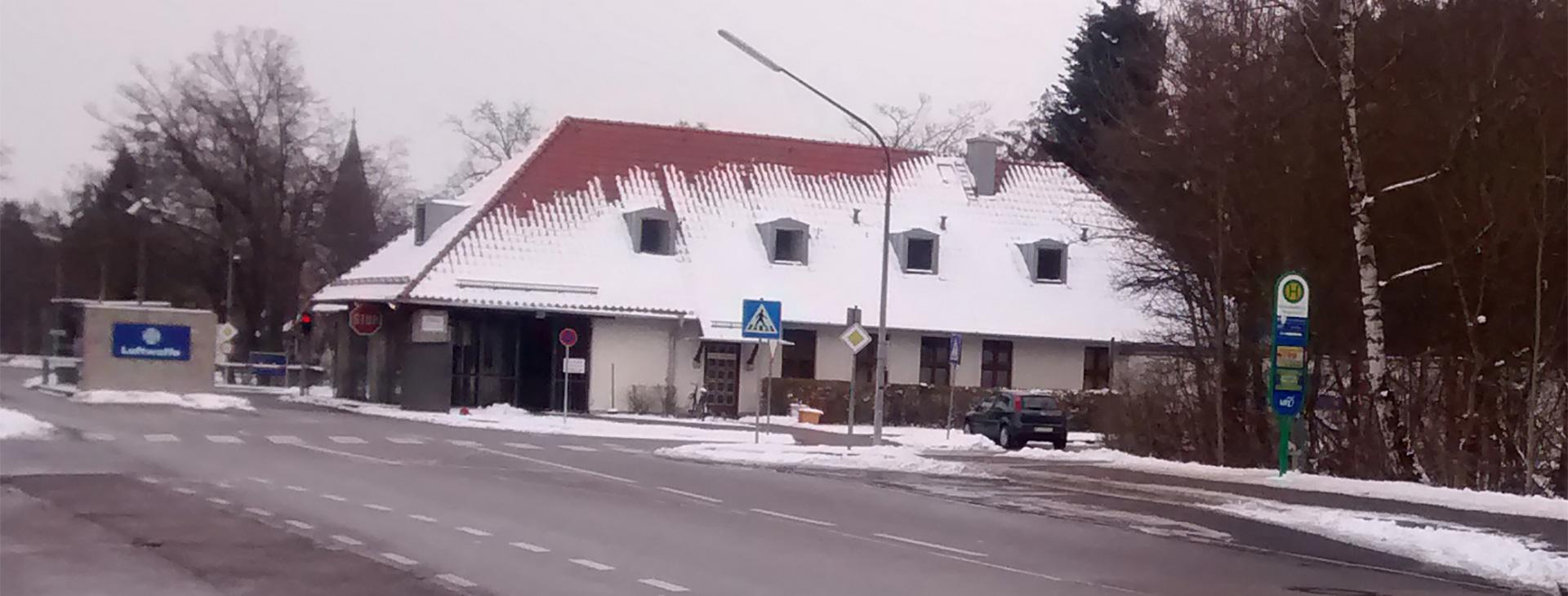 Neue Bushaltestelle am Fliegerhorst
