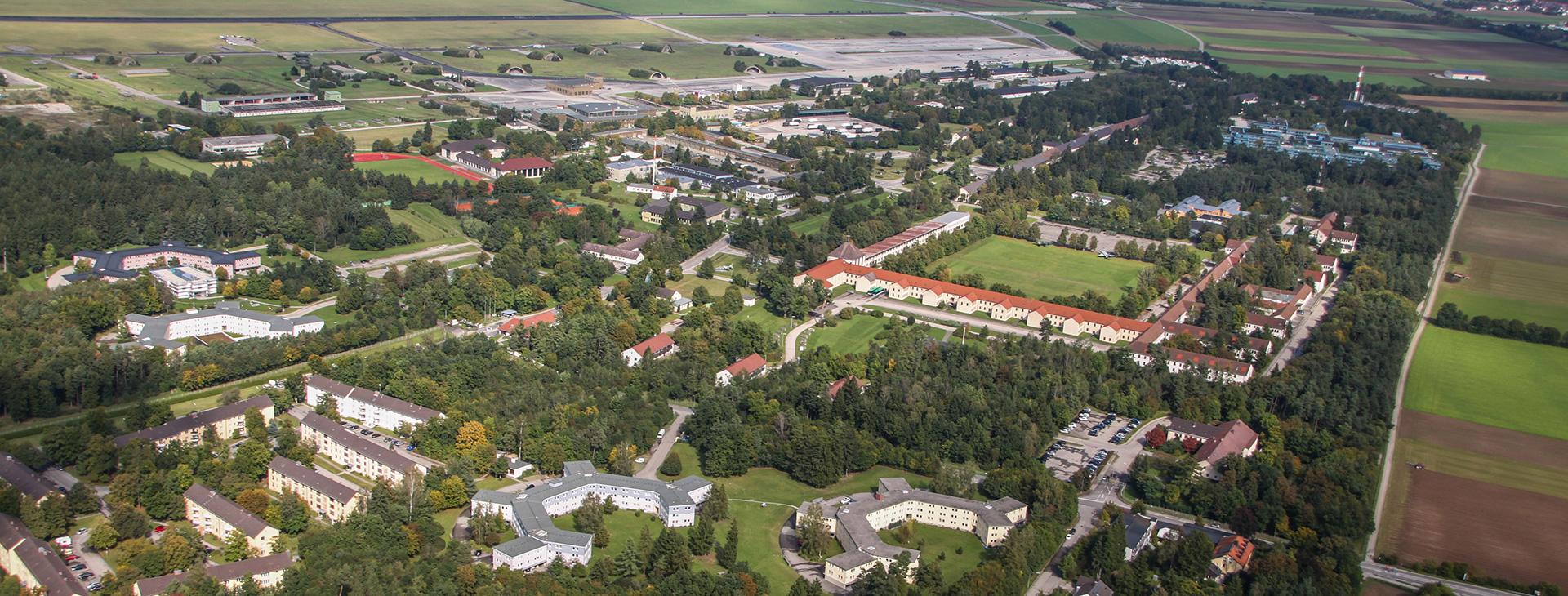 Areal Fliegerhorst Fürstenfeldbruck