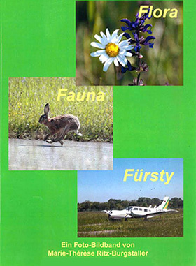 Illustrated book Flora und Fauna Fürsty