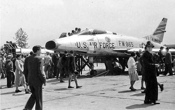 US Flugtag in den 50er Jahren