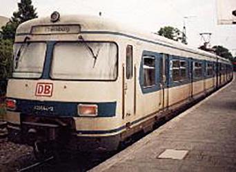 1972 S-Bahn für Fürstenfeldbruck