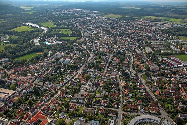 Luftbild Fürstenfeldbruck