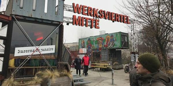 Fürstenfeldbrucker Stadträte besichtigen Werksviertel München
